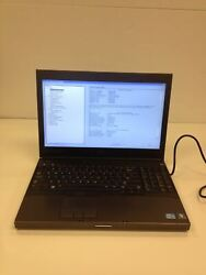 Dell Precision M4600 Laptop i7 2720QM 2.20 Ghz Quad Core 500Gb 8GB Battery Power