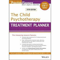 The Child Psychotherapy Treatment Planner 5th Edition DSM-5 Updates P-D-F🔥✅ $2.99