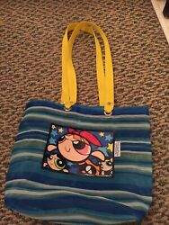 Powerpuff Girls Beach Bag Tote Vintage $15.00