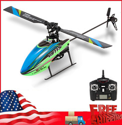 WLtoys 4CH 6G Non aileron RC Helicopter with Gyroscope Kid Toy Gift w Batteries $56.89