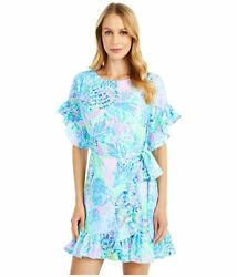 Lilly Pulitzer Darlah Stretch Dress Multi Shell Of A Party $79.00