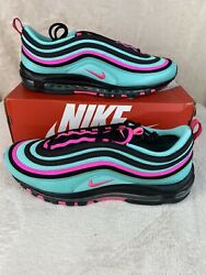 Nike Air Max 97 South Beach Men's Size 13 Hyper Turquoise Pink CU4877 300 $149.99