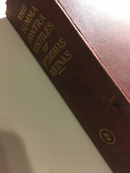 The Summa Contra Gentiles of St. Thomas Aquinas #2 $35.00