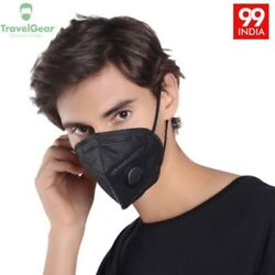 Face mask 1x Four Layer Foldable Face mask With Carbon Filter. $4.00