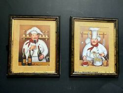 2 Art Kitchen Picture Wall GIFT HOME DECOR VINTAGE $20.00