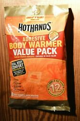 One Bag 8 count Hot Hands Body Warmers Exp. 92023 $11.50