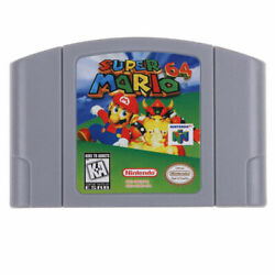 Nintendo N64 Game Super Mario64 Video Game Cartridge Console Card US Version $24.99