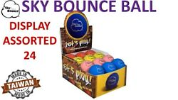 24 SKY BOUNCE ASSORTED COLOR HAND BALLS RACKET BALL RACQUETBALL TAIWAN $25.95