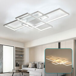 Modern Ceiling Light LED Acrylic Lamp Bedroom Living Room Chandelier Lighting $79.01