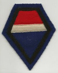 Beautiful French Made US Army 12th Army Group Shoulder Sleeve Patch $51.00