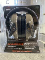 NEW WALKERs RAZOR Slim Electronic Ear Muffs NRR 23dB GWP-RSEMNR-FDE $47.88