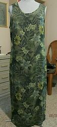Long Sleeveless Dress by CALIFORNIA CONCEPTS XL 100% Polyester $6.99