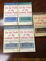Thomas Aquinas On The Truth Of The Catholic Faith Summa Contra Gentiles $50.00