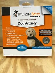 Thundershirt Dog Small 15 25lbs Gray Solution Anxiety Thunder Fireworks Travel $17.00