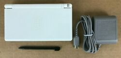 Nintendo DS Lite Handheld System Console Polar White w Charger  $54.99
