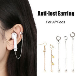 Novelty For Apple Airpods Accessories Earphone Anti Lost Ear Clip Earrings 2pcs $2.68