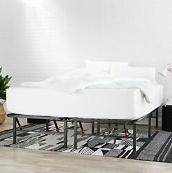 AmazonBasics Foldable, Metal Platform Bed Frame with Tool-Free Asse Twin X-Large $65.89