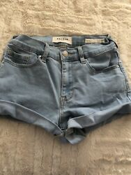 Pac Sun Girls Blue Denim Jean Shorts Size 25 $5.99