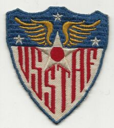 On Twill Base German Or French Made United States Strategic Air Force Patch $22.50