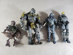 Halo Reach Brute MajorSpartan LockeGruntSpartan Kelly McFarlane Action Figure $59.99