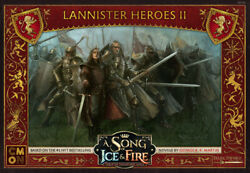 A Song of Ice and Fire Miniatures Game Lannister Heroes II NEW $28.00