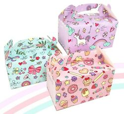 MintieJamie Cute Party Favor Box Handle Candy Box Exclusive Motifs for Kids $10.99