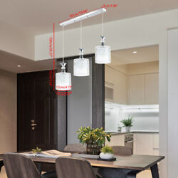 3 Light Petal Ceiling Light 3 LED Pendant Lamp Dining Room Chandelier Fixture US $33.00