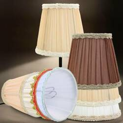 Modern Cloth Art Lamp Shades Mutilcolor Ceiling Chandelier 6 Colors Light Cover $6.29