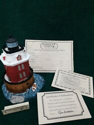 Harbour Lights-Sandy Point Maryland  #167 1995 $12.95