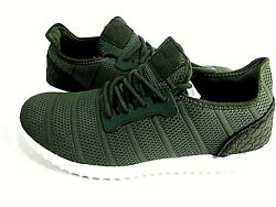 UNMK FUN Women#x27;s Walking Running Shoes 9518W02 Khaki Green US Size 9.5 M Eur 41 $40.00