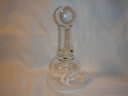 Candle Snuffer Hand Blown Glass Lantern Flame Lamp Extinguisher $17.99