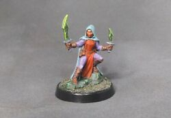 Hand painted Serena Dreadmere Rogue For Dungeons amp; Dragons Pathfinder Damp;D $40.00