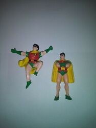 Robin DC Batman Toy Figures Used Comic Stuff Small Rubber Toys $20.00