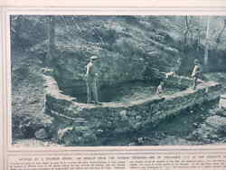 1916 SULPHUR SPRING BATHING FOR TRENCH RHEUMATISM; CANADIAN SNIPER WWI WW1 GBP 8.99
