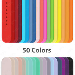 Silicone Band Strap for Apple Watch Sports Series 6 5 4 3 2 1 SE 38 40 42 44mm $4.94