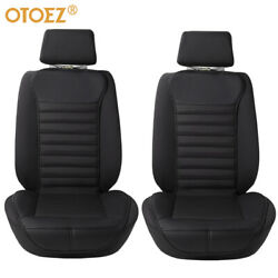 2pcs Car Front Seat Covers Cushion Backrest Protect Waterproof Leather Universal $37.99