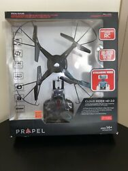 Propel Cloud Rider 2.0 HD Camera 2.4Ghz Quadrocopter Propel Drone NEW amp; SEALED $64.95