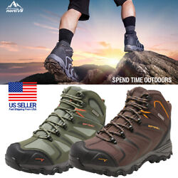 Mens Waterproof Hiking Boots Backpacking Lightweight Outdoor Work Boots Shoes US $48.39