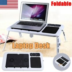 Portable Laptop Computer Desk Table Bed Sofa Folding Adjustable Width Stand Tray $22.28