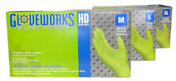 Ammex Gloveworks Green Nitrile Gloves Medium 100 gloves per box $28.50