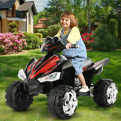 12V Kids Ride On ATV Car Quad Electric Toy 4 Wheeler With LED Headlights $139.99