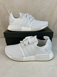 Adidas NMD R1 Cloud White Gum Men's Shoes D96635 Size 8 Women's Size 9.5 NIB $114.99