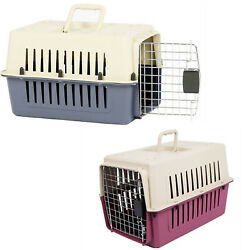 VILOBOS 16quot; Small Cat Dog Carrier Travel Cage Portable Crate Puppy Kitty Pet Box $34.99