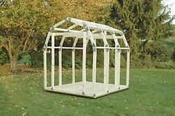 Lawn Outdoor Building House Shelter Storage Organizer Room Shed Kit Tool Set NEW