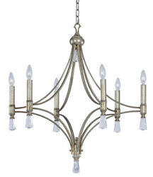 Maxim Lighting 21685CLSG Regal Chandelier Silver Gold $700.00