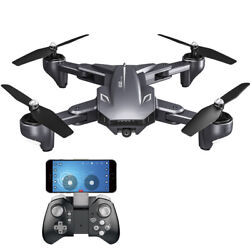 VISUO XS816 Drone Camera 1080P Foldable Gesture Photography Quadcopter Gift C5R0 $60.99