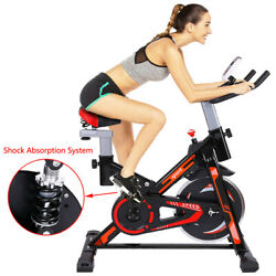 Exercise Bicycle Indoor Bike Cycling Cardio Adjustable Gym Workout Fitness Home $218.88