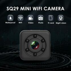 SQ29 IP 1080P Mini WiFi Small Camera Outdoor Sports Cam Motion Activated $19.88