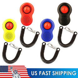 4PACK Dog Clicker Pet Dogs Puppy Training Clicker Trainer Teaching Tools $5.45