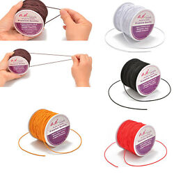 1mm Round Elastic string for BraceletsNecklaceBeading and Sewing 100Yard 1Roll $7.99